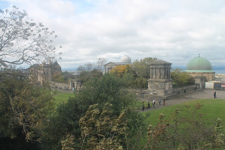 Calton Hill Observatory in 2012